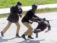 lawyers police clash