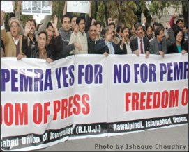 journalists protest - DAWN
