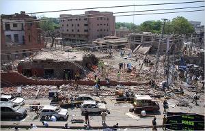 15 bomb site, Lahore